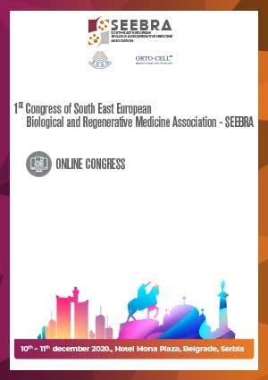 Prvi Međunarodni Kongres regenerativne medicine i biološke terapije SEEBRA 2020